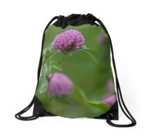 wildflowers in the filed Drawstring Bag