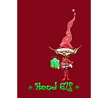 Head Elf Photographic Print