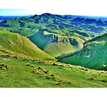 Rolling Hills of Grass. Photographic Print