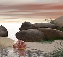 Amber Beach by Fiery-Fire