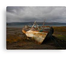 No more fishing Canvas Print