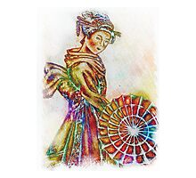 Colors of a Geisha Photographic Print