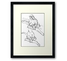 Figure Studies Framed Print