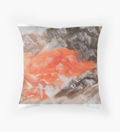 Bats out of Hell Throw Pillow