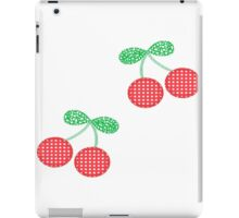 Plaid Cherries iPad Case/Skin