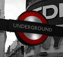 Tube Sign by Steve Gardner