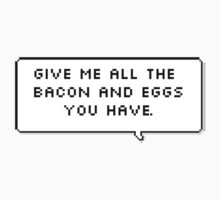 All The Bacon and Eggs by hugsnguineapigs