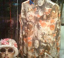 East Village Fashion Window at Night by SylviaS