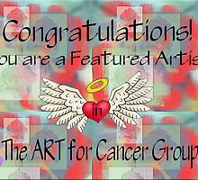 Banner for The ART for Cancer Group by Pam Moore