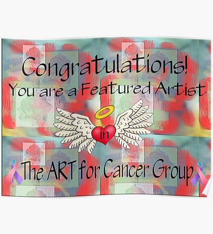 Banner for The ART for Cancer Group Poster