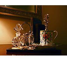 """Evening Tea And Feminine Treasures"" Photographic Print"