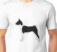 Basenji BW Unisex T-Shirt