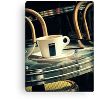 Coffee in Montmartre Canvas Print