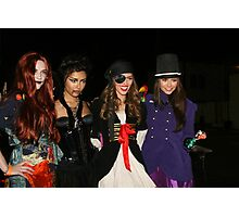 celebs of holloween  Photographic Print
