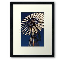 Wish for wind Framed Print