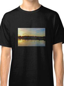 Sunrise at the Marina Classic T-Shirt