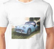 1960 Triumph TR3 Unisex T-Shirt