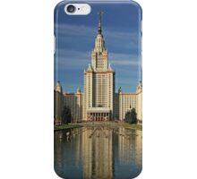 Moscow State University iPhone Case/Skin