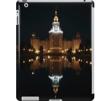 Moscow State University at Night iPad Case/Skin