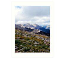 Alpine Tundra Art Print