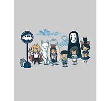 Studio Ghibli - All Characters  Photographic Print