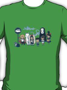 Studio Ghibli - All Characters  T-Shirt