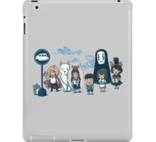 Studio Ghibli - All Characters  iPad Case/Skin
