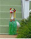 Hula Duck by Susan S. Kline
