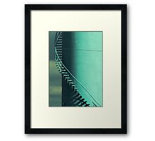 Another Stepping one  Framed Print