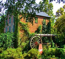 Lindale Grist Mill by Janie Oliver