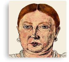 Queen Vic Canvas Print
