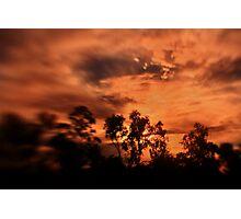 Show before dark Photographic Print