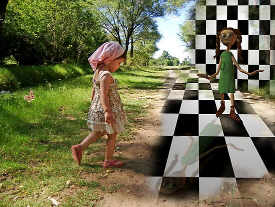 When Fantasy meets Reality... by Nathalie Chaput