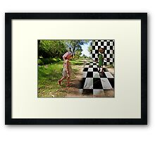 When Fantasy meets Reality... Framed Print