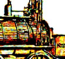 """""""Blücher"""" a steam locomotive by George Stephenson 1814 Sticker"""
