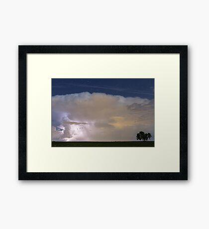 Striking Distance Framed Print