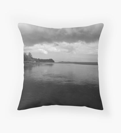 Pending Storm Throw Pillow