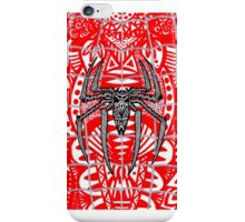 Spider-Man Zentangle Art iPhone Case/Skin