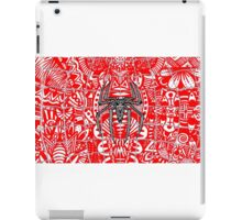 Spider-Man Zentangle Art iPad Case/Skin