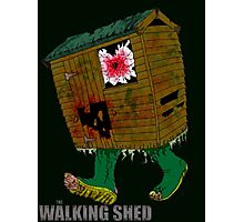 The Walking Shed! Photographic Print