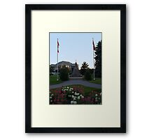 We Remember Framed Print