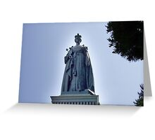 Victoria Regina Greeting Card
