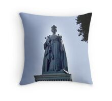 Victoria Regina Throw Pillow