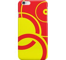 Yellow Circles iPhone Case/Skin