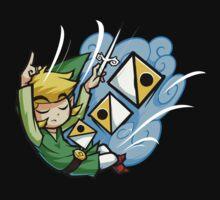 Zelda Wind Waker Wind's Requiem  One Piece - Short Sleeve