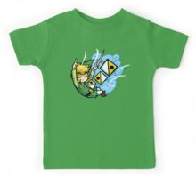 Zelda Wind Waker Wind's Requiem  Kids Tee