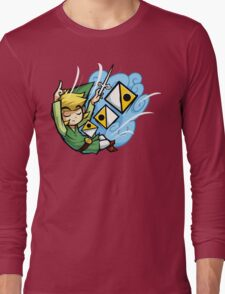 Zelda Wind Waker Wind's Requiem  Long Sleeve T-Shirt