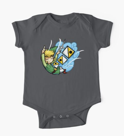 Zelda Wind Waker Wind's Requiem  One Piece - Short Sleeve
