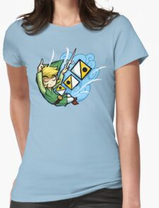 Zelda Wind Waker Wind's Requiem  Womens Fitted T-Shirt