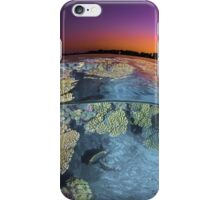 Dusk at the Red Sea Reef iPhone Case/Skin